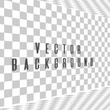 Abstract background with a side perspective. Vector Royalty Free Stock Images