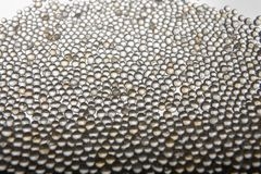 Abstract background with silica gel balls on white background. royalty free stock image