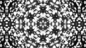 Abstract background with silver kaleidoscope stock photography