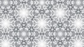Abstract background with silver kaleidoscope. 3d rendering Royalty Free Stock Photography