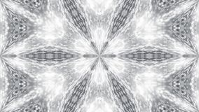 Abstract background with silver kaleidoscope. 3d rendering Royalty Free Stock Photos