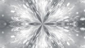 Abstract background with silver kaleidoscope. 3d rendering Royalty Free Stock Image