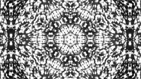 Abstract background with silver kaleidoscope stock photo