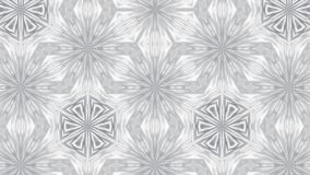 Abstract background with silver kaleidoscope. 3d rendering Royalty Free Stock Photo