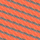 Abstract background in silver and orange hues. Silvered geometries and shapes on orange background. Abstract image Royalty Free Illustration