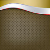 Abstract background silver wave. Abstract background with silver wave Royalty Free Stock Images