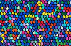 Abstract background similar to stained glass. Vector Royalty Free Stock Photo