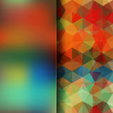 Abstract background. Simple abstract background consisting of triangles Royalty Free Stock Photography
