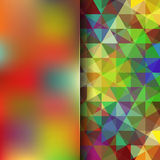 Abstract background. Simple abstract background consisting of triangles Royalty Free Stock Photos