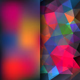 Abstract background. Simple abstract background consisting of triangles Royalty Free Stock Photo