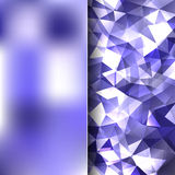 Abstract background. Simple abstract background consisting of triangles royalty free illustration