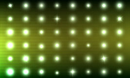 Abstract background is simulating lights on the scoreboard Stock Photography