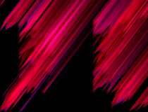 Abstract background with slanting red lines. On  black Stock Photos