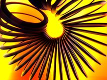 Abstract Background of Slinky royalty free stock photos