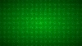 Abstract background of small circles. Or pixels of different sizes in green colors Royalty Free Stock Photos