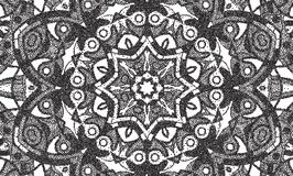 Abstract background of small dots forming a mandala. Backdrop royalty free illustration