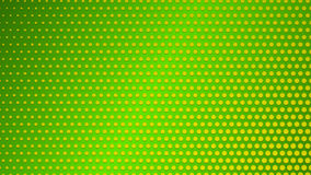 Abstract background of small dots. On green background Stock Images