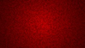Abstract background of small isometric cubes. In red colors Stock Photography
