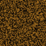 Abstract background of small pixels. Pixel texture for your projects. Dark brown earth color. Vector illustration. EPS 10 stock illustration