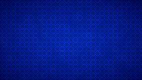 Abstract background of small squares. Abstract background of intertwined small squares in blue colors Stock Illustration