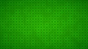 Abstract background of small squares. Abstract background of intertwined small squares in green colors Vector Illustration