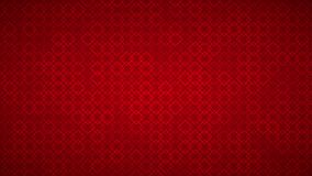 Abstract background of small squares. Abstract background of intertwined small squares in red colors Stock Photo