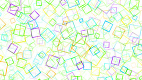 Abstract background of small squares. Multicolored on white Stock Photography