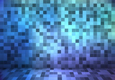 Abstract background with small tiles. Wall and floor   Stock Photos