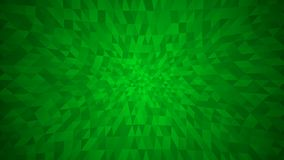 Abstract background of small triangles. In green colors Stock Illustration