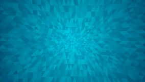 Abstract background of small triangles. In light blue colors vector illustration