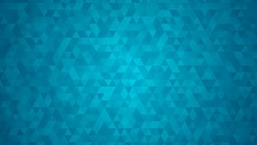 Abstract background of small triangles. In light blue colors royalty free illustration