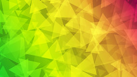 Abstract background of small triangles. In rainbow colors Royalty Free Stock Image