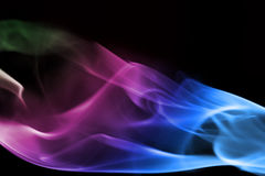 Abstract background smoke Stock Images