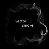 Abstract background with smoke Royalty Free Stock Photos