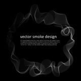 Abstract background with smoke Royalty Free Stock Photo