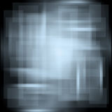 Abstract background with smooth lines, blue. Abstract background with blurry lines and squares royalty free illustration