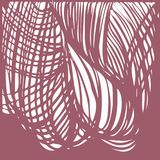 Abstract background with smooth lines. And interlaces stock illustration