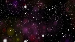 Abstract Background with snow Royalty Free Stock Photo