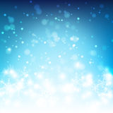 Abstract background snow fall and lighting vector illustration 0 Royalty Free Stock Images