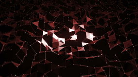 Abstract background with snow stock footage