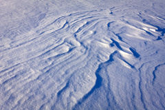 Abstract background with snow Stock Photo