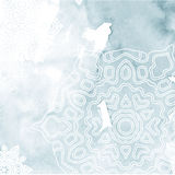 Abstract background with snowflake. Stock Photos