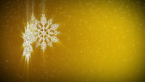 Abstract background snowflake stock footage
