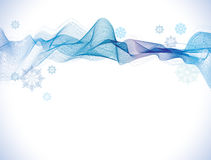 Abstract Background with snowflakes Royalty Free Stock Photography