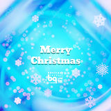 Abstract background snowflakes Merry Christmas. Background snowflakes Merry Christmas, multicolored gradient, bokeh effect, Vector illustration, rainbow flash royalty free illustration