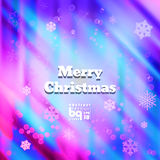 Abstract background snowflakes Merry Christmas. Background snowflakes Merry Christmas, multicolored gradient, bokeh effect, Vector illustration, rainbow flash vector illustration