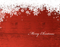 Abstract background with snowflakes and Merry Christmas. Text royalty free illustration
