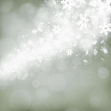 Abstract background with snowflakes royalty free stock photo