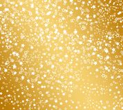 Abstract background with snowflakes, stars Royalty Free Stock Image
