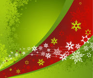 Abstract background with snowflakes. Royalty Free Stock Images